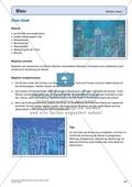 Kreatives Gestalten in Blau: Die blaue Stadt Preview 1