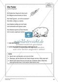Deutschunterricht rund um das Thema Zoo - Ein Gedicht auswendig vortragen Preview 1