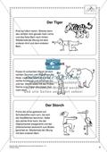 Sportunterricht rund um das Thema Zoo: Yoga-Übungen mit Tieren Preview 2