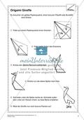 Kunstunterricht rund um das Thema Zoo - Eine Origami-Giraffe erstellen Preview 1