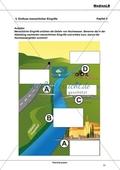 Hochwasser - Einfluss menschlicher Eingriffe: Abbildung beschriften + Gründe für den Anstieg der Hochwassergefahr erarbeiten Preview 1