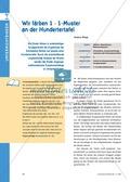 Mathematik, Zahlen & Operationen, Einmaleins, Hundertertafel