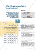 Mathematik, Zahlen & Operationen, Einmaleins, Operationsverständnis