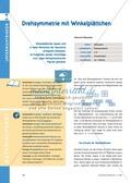 Mathematik, Geometrie, funktionaler Zusammenhang, Raum & Form, geometrische Formen, Analysis, Symmetrie, drehung