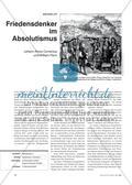 Friedensdenker im Absolutismus: Johann Amos Comenius und William Penn Preview 1