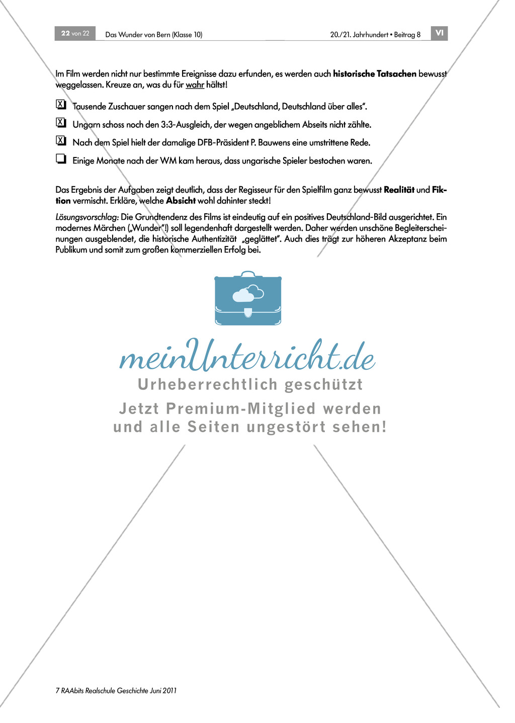Film:Wunder von Bern:Kritische Hinterfragung Preview 2