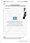 Thema Bewerbung: Ein Bewerbungsgespräch analysieren + Ratschläge formulieren Preview 4