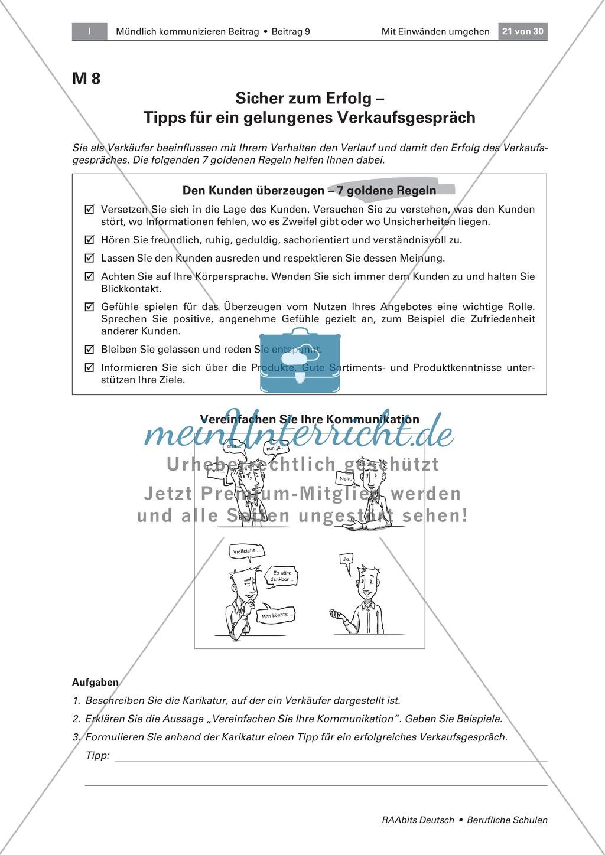 Mit Einwänden umgehen können: Methoden der Einwandbehandlung kennen und einsetzen Preview 7
