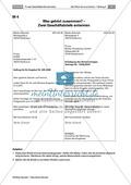 Private Geschäftsbriefe schreiben: Anlässe + Aufbau Preview 7