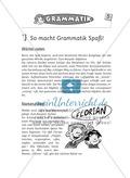 Spielideen Deutschunterricht: Grammatik Preview 1