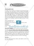 Spielideen Deutschunterricht: Grammatik Preview 4