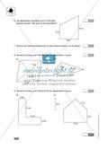 Klassenarbeit zur Flächenberechnung von Vielecken Preview 2