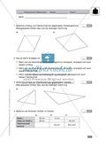 Vorschlag zu einer Klassenarbeit zur Flächenberechnung von Vielecken Preview 1