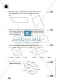 Vorschlag zu einer Klassenarbeit zur Flächenberechnung von Vielecken Preview 2