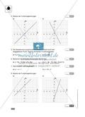 Klassenarbeit oder Lernkontrolle zur Bestimmung von eindimensionalen Funktionen Preview 2