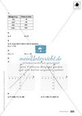 Klassenarbeit oder Lernkontrolle zur Bestimmung von eindimensionalen Funktionen Preview 3