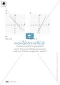 Klassenarbeit oder Lernkontrolle zur Bestimmung von eindimensionalen Funktionen Preview 4