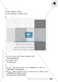 Klassenarbeit zur Berechnung von Oberflächen und Volumen eines Aquariums und Schokoladentafeln Preview 3