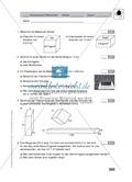 Klassenarbeit zur Berechnung von Oberflächen und Volumen eines Eiswürfels und Pflastersteinen Preview 1