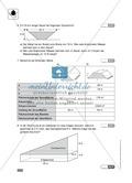 Klassenarbeit zur Berechnung von Oberflächen und Volumen eines Eiswürfels und Pflastersteinen Preview 2