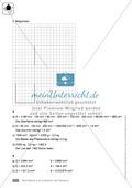 Klassenarbeit zur Berechnung von Oberflächen und Volumen eines Eiswürfels und Pflastersteinen Preview 4