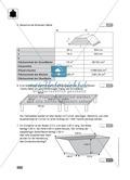 Klassenarbeit zur Berechnung von Oberfläche und Volumen von Holzbalken und Farbe für Holzkisten Preview 2