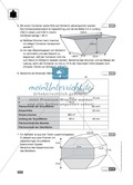 Klassenarbeit zur Berechnung von Oberfläche und Volumen von Gold und Ladefläche eines Sprinters Preview 2