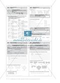 Umfang und Fläche von geometrischen Formen auf Kästchenpapier Preview 3