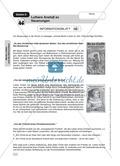 Martin Luther: Anstoß zu Neuerungen. Arbeitsmaterial mit Erläuterungen Preview 1