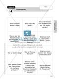 Martin Luther: Ein Puzzle. Arbeitsmaterial mit Erläuterungen Preview 2