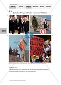 Politik, Internationale Entwicklungen im 21. Jahrhundert, Konflikte und Konsens, Nahostkonflikt, Konfliktanalyse, Internationale Konflikte, Konfliktarten