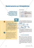Mathematik, Geometrie, funktionaler Zusammenhang, Raum & Form, Analysis, Symmetrie, symmetrische Figuren, muster und strukturen