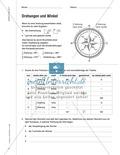 Orientierung an den Himmelsrichtungen mit Hilfe des Kompass Thumbnail 2