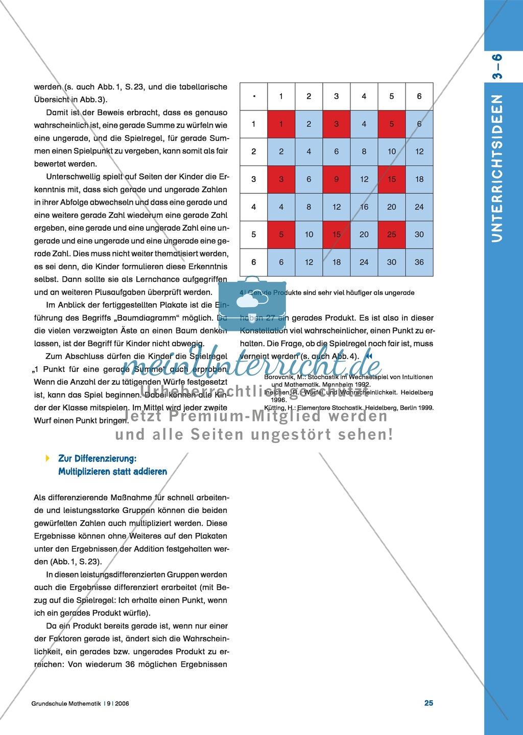 Einführung des Baumdiagramms als Darstellungsmittel für Daten und ...