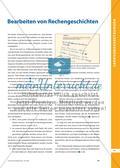 Operationsverständnis beim Bearbeiten von Rechengeschichten Preview 2