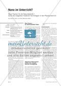 Nano im Unterricht? - Neue Themen für die Sekundarstufe I durch die Integration moderner Technologien in den Physikunterricht Preview 1