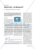 Mexico City – ein Monstrum? - Von der nationalen Industriemetropole zur Global City Preview 1