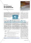 Der Deltaplan der Niederlande - Eine Küstenlandschaft verändert sich Preview 1