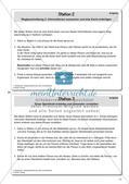 Gesprächsführung: Station 1 und 2 - Wegbeschreibung: Karten lesen, auswerten und anfertigen Preview 2