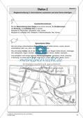 Gesprächsführung: Station 1 und 2 - Wegbeschreibung: Karten lesen, auswerten und anfertigen Preview 4