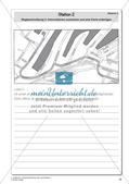 Gesprächsführung: Station 1 und 2 - Wegbeschreibung: Karten lesen, auswerten und anfertigen Preview 5