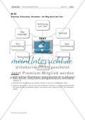"""Gruppenpuzzle """"Texterschließungsverfahren"""" & Präsentationsphase """"Der Weg durch den Text"""" Preview 24"""