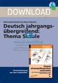 Deutsch jahrgangsübergreifend: Thema Schule Preview 1