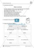 Deutsch jahrgangsübergreifend: Thema Schule Preview 8