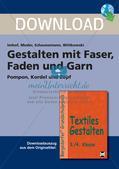 Textiles Gestalten: Faser, Faden und Garn Preview 1