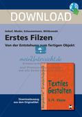 Textiles Gestalten: Filzen Preview 1