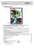 Collagen aus vorgefertigtem Papier: Gemeinschaftsarbeit und Plakat Preview 6