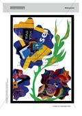 Collagen aus vorgefertigtem Papier: Gemeinschaftsarbeit und Plakat Preview 9