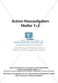 Action-Hausaufgaben - Größen Preview 2