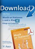 Musik an Stationen: Klänge und Geräusche Preview 1